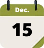 calendar graphic Dec. 15