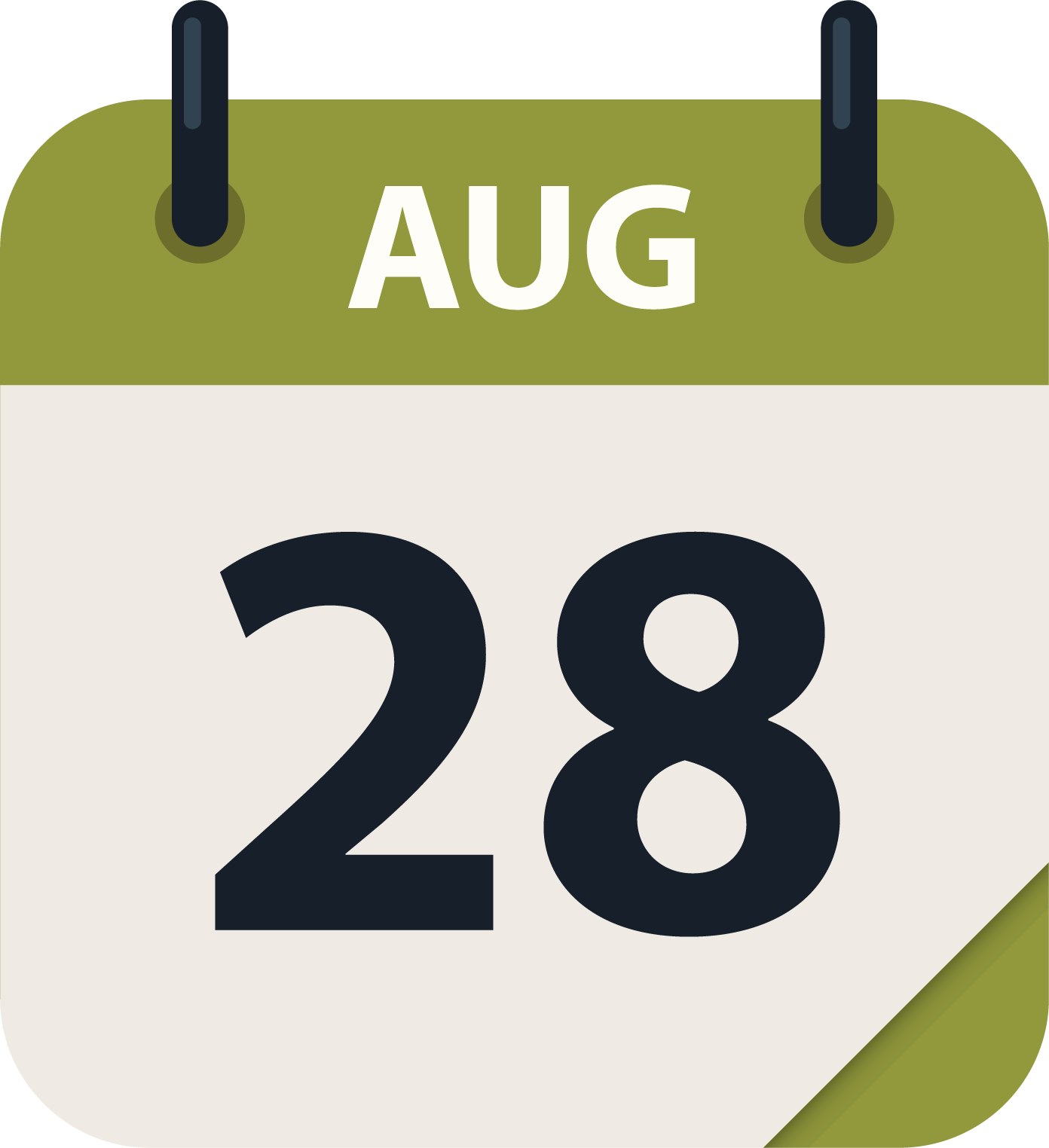Aug 28 cal icon