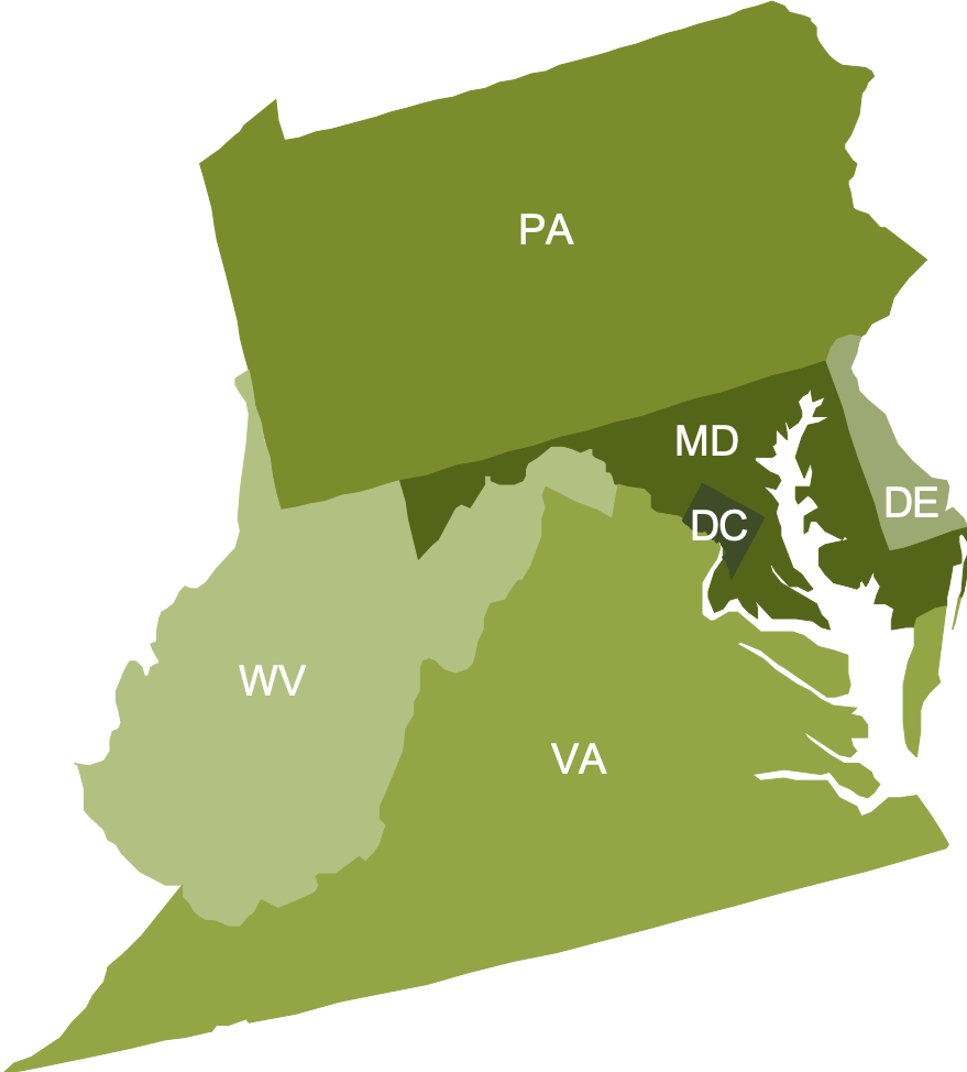 PTTC Central East map