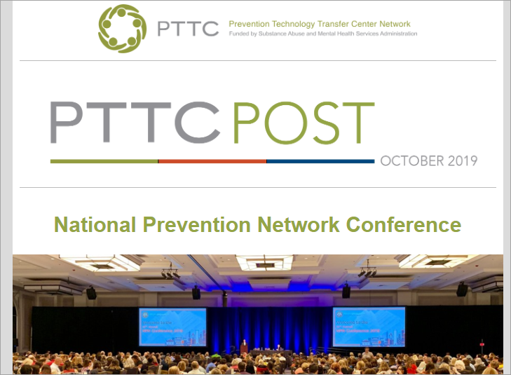 Image of issue of the PTTC Post eNewsletter