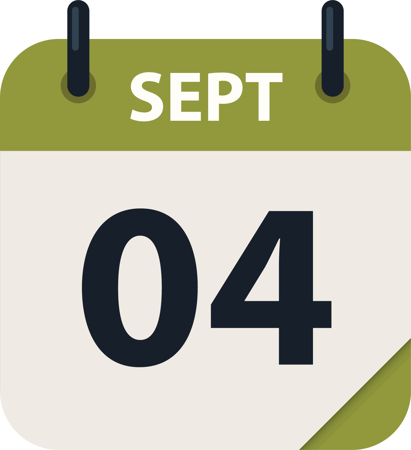 Sept 4 cal icon