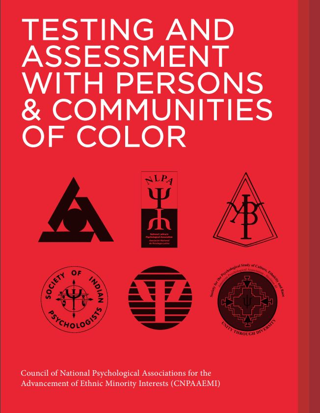 Cover of Testing and Assessment with Persons & Communities of Color