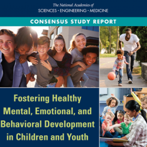 Fostering Healthy Mental, Emotional, and Behavioral Development in Children and Youth