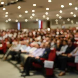 Audience at conference