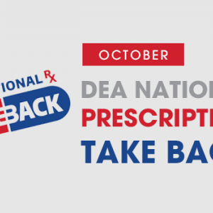 October DEA Rx Take Back - News Image