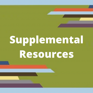 SE PTTC supplemental resources image