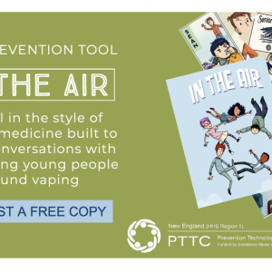 NEW GRAPHIC MEDICINE, In the Air, novel-style story helps foster conversations around vaping