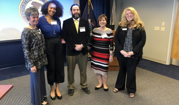SAMHSA HHS 1 Regional Administrator and New England TTCs