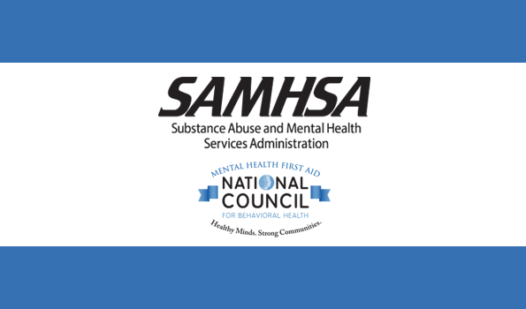 SAMHSA and NCBH logo for news item