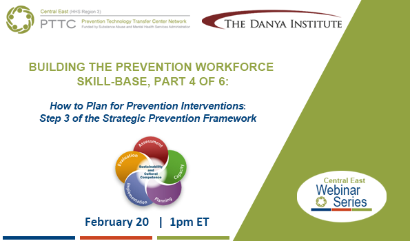 Building the Prevention Workforce Skill-Base: Part 4 event image