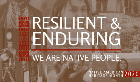 National Native American Heritage Month 2020 theme image