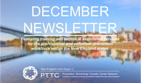 December Newsletter Text over a background of a fall scene