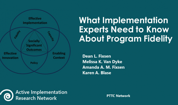 Implementation and Adaptation PTTC Abbreviated Slides