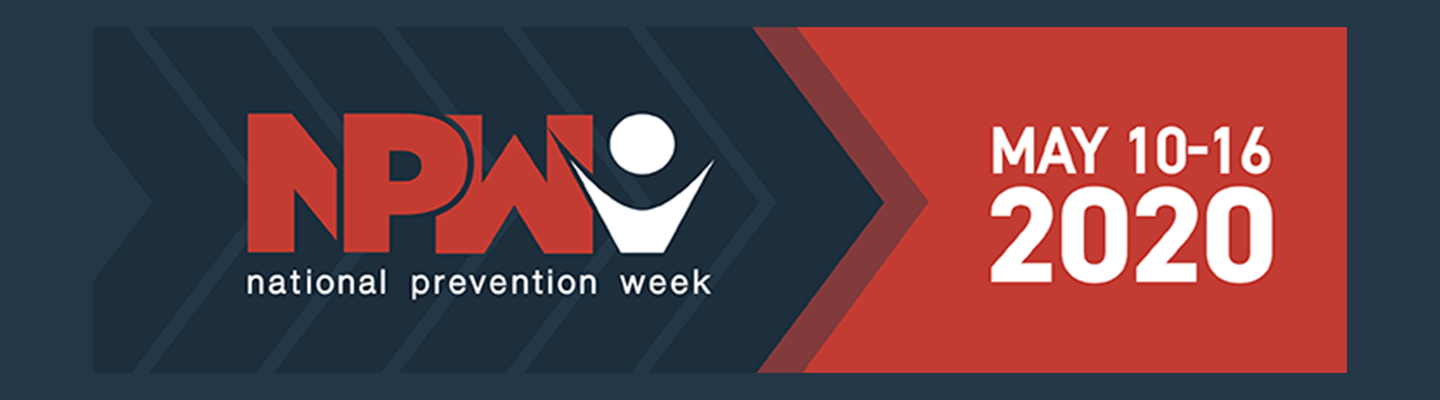 2020 National Prevention Week