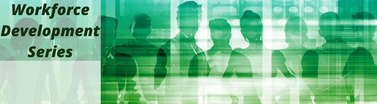 slider graphic of green, transparent people