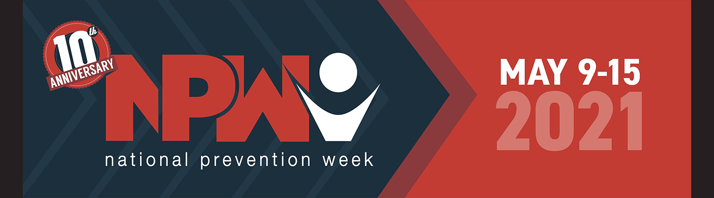 Image banner of National Prevention Week